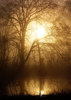 Photograph - Misty Morning by Keith Bridgman