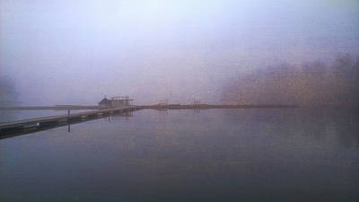 Photograph - Misty Morning Lake by Ari Salmela
