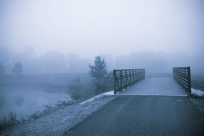 Photograph - Misty Morning by Melinda Fawver