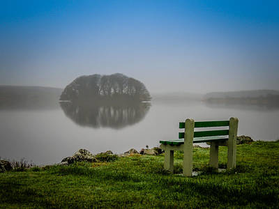 Photograph - Misty Morning On Lake Knockalough by James Truett