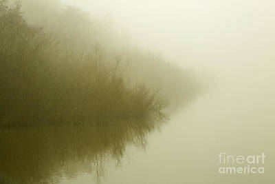Photograph - Misty Morning Reflection. by Clare Bambers