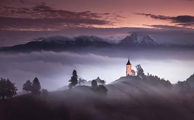 Slovenia Photograph - Misty Morning by Sandi Bertoncelj