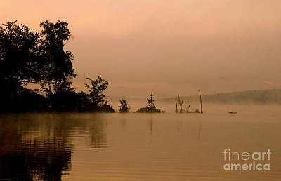 Photograph - Misty Morning Solitude  by Neal Eslinger