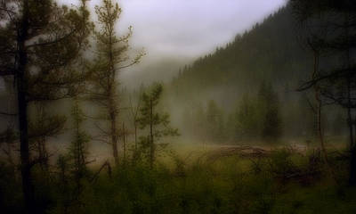 Photograph - Misty Mountain by Ellen Heaverlo