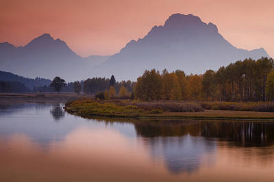 Teton Photograph - Misty Mountain Evening by Andrew Soundarajan