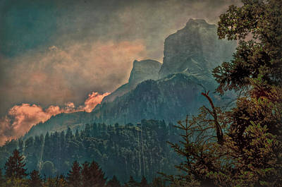 Photograph - Misty Mountain by Hanny Heim