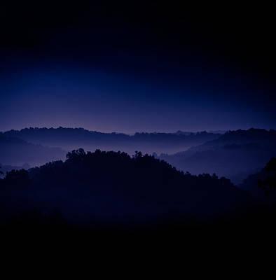 Virginia Photograph - Misty Mountain Hop by Shane Holsclaw