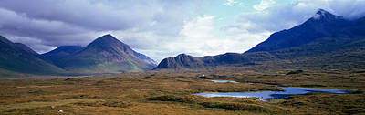 Misty Mountain Landscape, Glen Print by Panoramic Images
