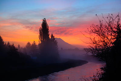 Photograph - Misty Mountain Morning by Tikvah's Hope