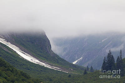 Photograph - Misty Mountains by Alycia Christine