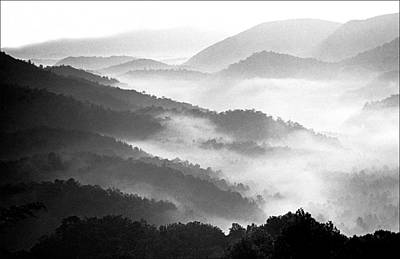 Misty Mountains Art Print by Wendell Thompson