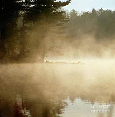 Photograph - Misty Reservoir by James A Prince