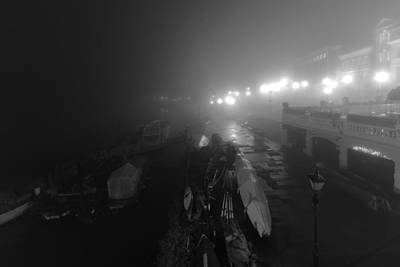 Photograph - Misty Richmond Riverside by Maj Seda