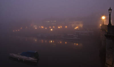 Misty Richmond Upon Thames Art Print