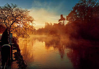 Photograph - Misty River by Beverly Cash