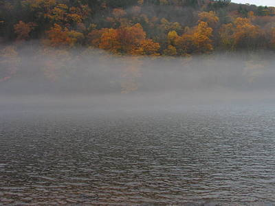 Photograph - Misty River by Mark C Ettinger