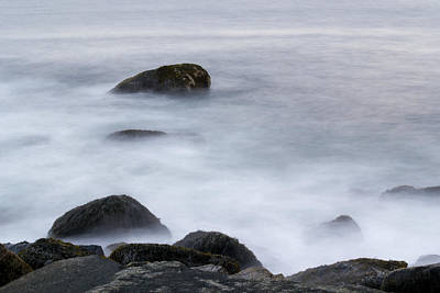 Photograph - Misty Rocks by Jatinkumar Thakkar