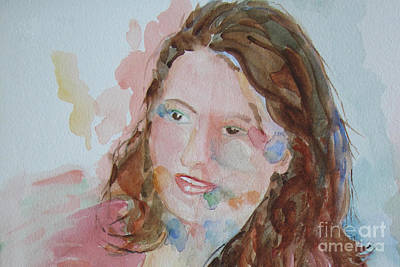 Painting - Misty by Sandy McIntire