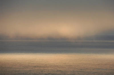 Photograph - Misty Sea by Donna Blackhall