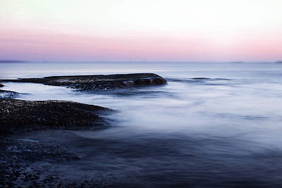 Long Exposure Photograph - Misty Sea by Nicklas Gustafsson