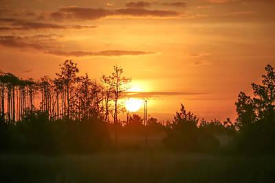 Zen Garden - Misty Sunrise by Paula OMalley
