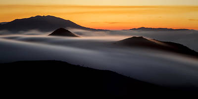 Photograph - Misty Sunset by Antonio Jorge Nunes