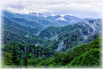 Photograph - Misty Valley by Carolyn Derstine