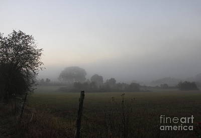 Photograph - Misty View by Erica Hanel