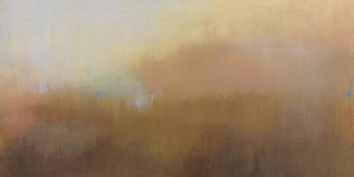 Mist Painting - Misty View From Above Cropped by Jacquie Gouveia