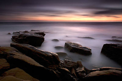 Long Beach Ca Photograph - Misty Water by Peter Tellone