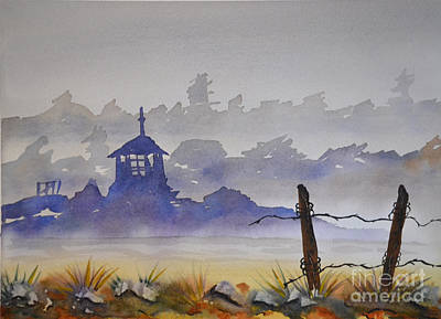 Painting - Misty Watercolors by Cecilia Stevens