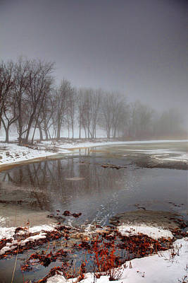 Misty Waters Original by Gary Gish