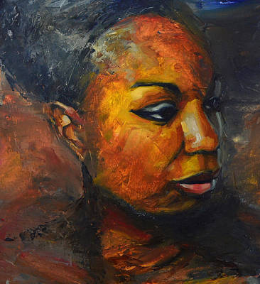 Nina Simone Painting - Misunderstood by Khairzul MG