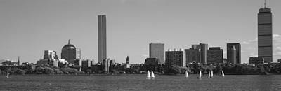 Boston Ma Photograph - Mit Sailboats, Charles River, Boston by Panoramic Images