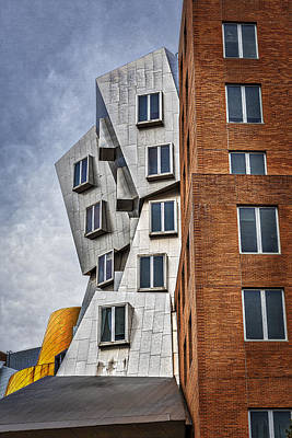 Photograph - Mit Stata Building Center - Cambridge II by Susan Candelario