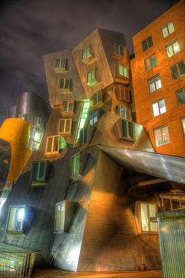 Photograph - Mit Stata Center - Boston by Joann Vitali