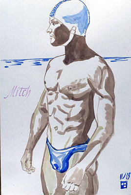 Painting - Mitch by Sylvie Proidl
