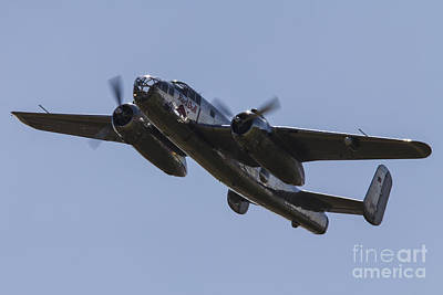 B25 Photograph - Mitchell B-25 by J Biggadike