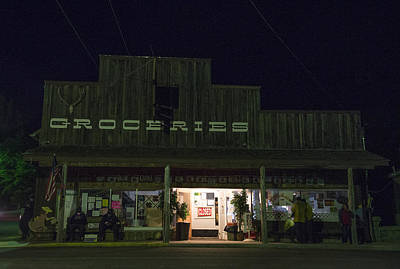 Photograph - Mitchell Convenience Store by Spencer Bodian
