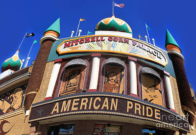 Mitchell Corn Palace - 01 Art Print by Gregory Dyer