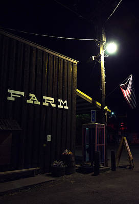 Photograph - Mitchell Farm Store by Spencer Bodian