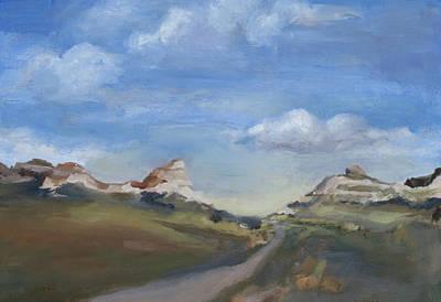 Mitchell Pass Western Nebraska Art Print by Leigh Morrison
