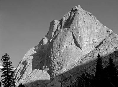 Photograph - 109641-bw-mitchell Peak, Wind Rivers by Ed  Cooper Photography