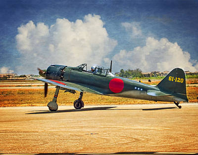 Photograph - Mitsubishi Zero Fighter by Steve Benefiel