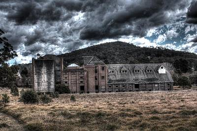 Photograph - Mittagong Malt Factory.  by Ian  Ramsay