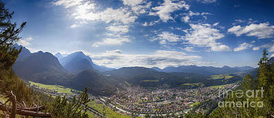 Photograph - Mittenwald And The Isartal by Fabian Roessler