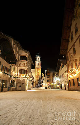 Mittenwald In Winter Art Print