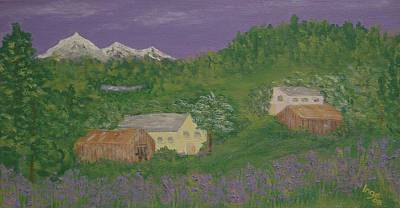 Painting - Mittersill  Austria by Inge Lewis