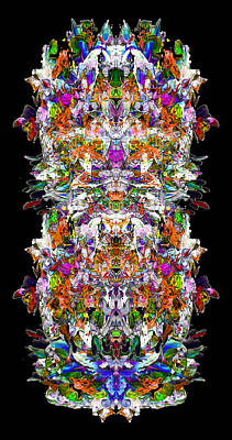 Digital Art - Mix Actor 10 by Zac AlleyWalker Lowing