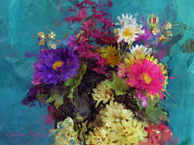 Photograph - Mixed Bouquet by George Tuffy